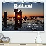 Gotland - Sonneninsel in der Ostsee (Premium-Kalender 2020 DIN A2 quer): Insel Gotland - die Perle Schwedens (Monatskalender, 14 Seiten ) (CALVENDO Orte)
