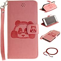Schutzhülle für iPhone 6 / 6S Design Panda Pattern, GOCDLJ Ultra Thin PU Leder Flip Cover Muster Tasche Ledertasche... preisvergleich bei billige-tabletten.eu