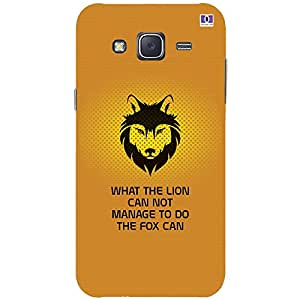 The Lion - Mobile Back Case Cover For Samsung Galaxy J5 (2015)