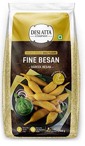 Desi Atta – Fine/Bareek Besan, 500g Pouch