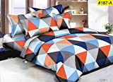 AC Comforter King Size Bed, 1pc Comforter, 1pc Bedsheet and 2 Pillow Cover