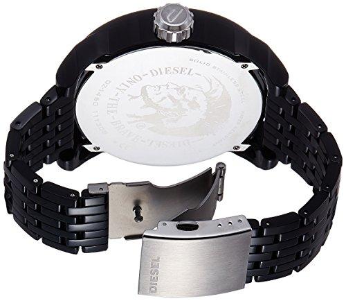 21a82ccb7265 Diesel Franchise-P57 DZ1460 - Reloj analógico de cuarzo para hombre
