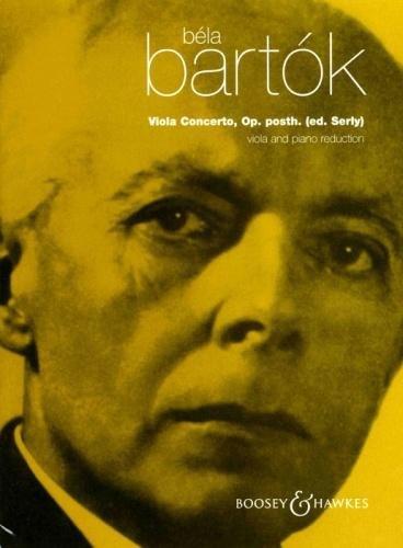 Béla Bartók: Viola Concerto, Op. Posth. (Piano Music Sheet Bartok)