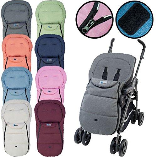 Altabebe Sommerfußsack Car Seat AL2610 Microfaser Farbwahl NEU