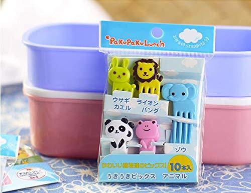 Animal Manor Mini-Obstgabel für Kinder, aus Kunststoff