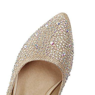 Talloni delle donne Primavera Estate Autunno Inverno Club scarpe personalizzate Materiali da festa di nozze e abito da sera con strass tacco grosso Silver