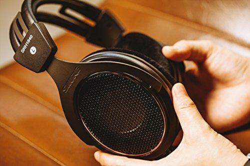 Shure SRH1840, offener Kopfhörer / Over-ear, schwarz/silber, High-End, geräuschunterdrückend, Kabel austauschbar, Velourpolster, natürlicher Klang, erweiterte Höhen, akkurater Bass, gematchte Wandler - 12