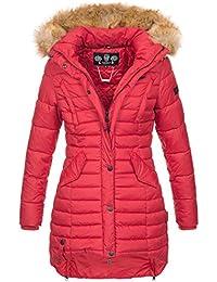 786573fe90df Navahoo Damen Winter Jacke Steppjacke Mantel Parka warm gefüttert gesteppt  B640