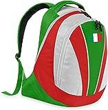 GearUp Fan Rucksack mit Länderflagge Farbe Italien