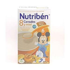 Nutribén - 8 Céréales et Miel et Biscuits Nutribén 600 gr - 1895066