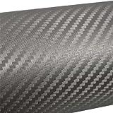 Mauk 1464 Carbonfolie, 0.5 x 1.52 m, silber