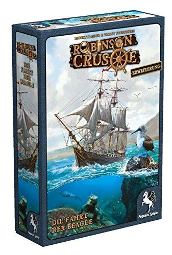 Pegasus Spiele 51946G - Robinson Crusoe Die Fahrt der Beagle (Erweiterung)