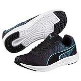 Puma Unisex Comet Jr Nrgy Turquoise-Puma Black Sneakers - 3 Kids UK/India (19 EU)