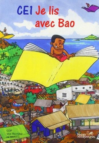 Je Lis avec Bao, CE1, Français, Manuel Eleve par J. Baudonnet
