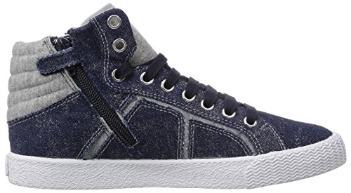 Geox - J Smart Girl B, Sneaker alte Bambina Blu (Blau (JEANS/GREYC4381))