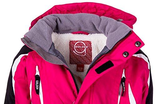 Skianzug Kinder Schneeanzug Jungen Mädchen Unisex Winteranzug Snowboard Winter | MQY-17 - 4