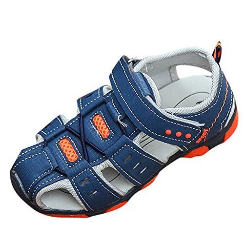 PLOT Children Kids Boys Girls Closed Toe Summer Beach Sandals Shoes Sneakers 2-8 T