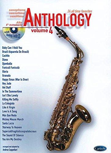 Anthology (Alto Sax & Eb Instrum.), Volume 4 (Anthology (Cappellari))