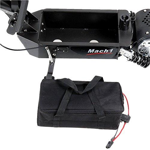 MACH1® Elektro E-Scooter mit EU Strassenzulassung 20Km/h Mofa Modell-2 EEC 36V/500W (Es besteht keine Helmpflicht für diesen Scooter) (1x 36V-14Ah Original Akkus) - 6