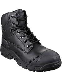 Magnum Stealth Force 8.0 Leather CT CP - Botas de moto, talla: 35.5, Color Negro