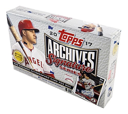 2017 Topps Archives Signature Series Baseball Hobby Box - Baseball-karten Topps