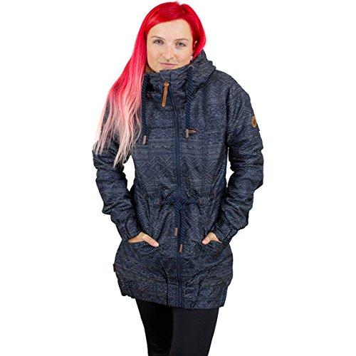 Alife and Kickin Charlotte B Coat Girl-Winter-Jacke blau M