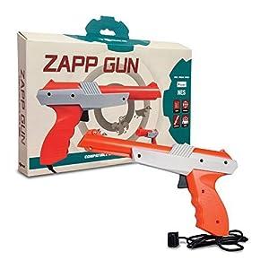 Tomee : Zapper Pistole Für Die Nintendo NES Spielkonsole (Laser, Gun, Duck Hunt, Gumshoe…)