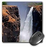 Danita Delimont - Kymri Wilt - Waterfalls - Africa, Zimbabwe. Victoria Falls, The Smoke that Thunders. - MousePad (mp_188732_1)