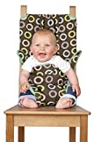 Totseat The Washable Squashable Highchair, Choc Circles