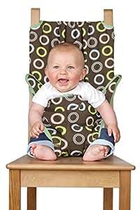 TOTSEAT Chaise Nomade pour Bébé Motif Chocolate Multicolore