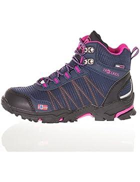 Trollkids Zapatos impermeables corte medio Trolltunga para niños
