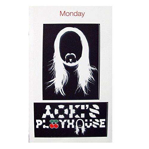 Pacha: Aoki's Play House 2015 Set Adesivo - Bianco, Taglia Unica