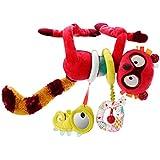 Lilliputiens 86576 - Georges Aktivitätsspielzeug Lemur  Kollektion Zirkus