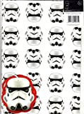 Official Star Wars Stormtrooper Gift Wrap (2 Sheets, 2 Tags)