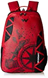 Wildcraft Polyester 35 Ltrs Red and TJ School Backpack (WC 5 Dare)