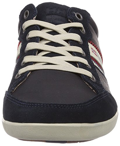 Helly Hansen Kordel Leather, Sneakers basses homme Azul marino / Beige / Rojo