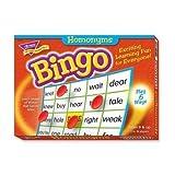Tep6132 Trend Homonyms Bingo Game