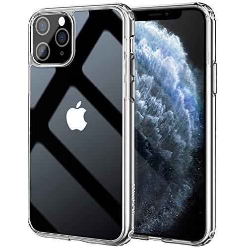 Blukar Funda iPhone 11 Pro,  Carcasa Caso Transparente Silicona Anti- Arañazos Absorción de Choque con PC Duro Panel Posterior + Marco Reforzado de TPU Suave y Esquinas Reforzadas