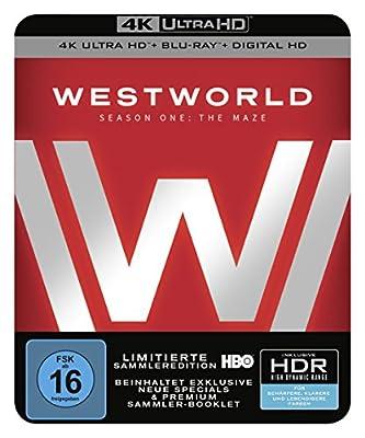 Westworld Staffel 1: Das Labyrinth als limitierte Sammleredition (4K Ultra HD + Blu-ray + Digital HD, Limited Edition) [Blu-ray