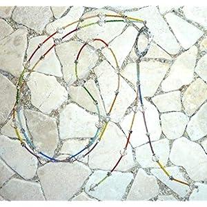 lange Y – Kette – kristall & rainbow –