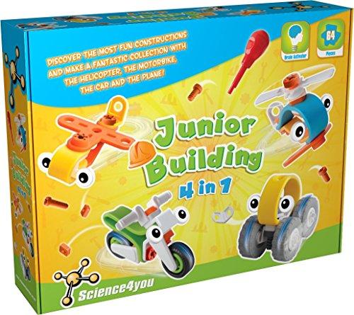 Science4you - Junior Building 4 in 1, Juguete Educativo y científico (488240)