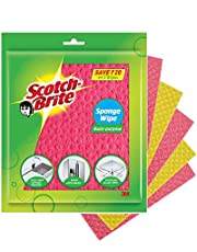 Scotch-Brite Sponge Wipe (Large) (Pack of 5)