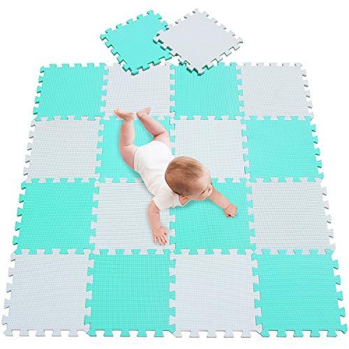 Meiqicool Alfombra Puzzle Niños Bebe Infantil, esteras