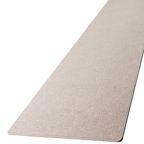 Preisvergleich Produktbild Schlingen Teppich Läufer Torronto Beige nach Maß - versandkostenfrei schadstoffgeprüft pflegeleicht antistatisch schmutzresistent robust strapazierfähig Flur Diele Eingang Wohnzimmer Küche, Größe Auswählen:80 x 400 cm