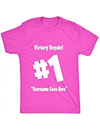 8TN Victory Royale #1 Custom Kids - White Unisex-Children T Shirt