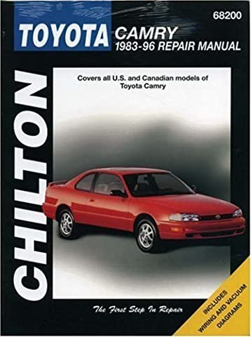 Toyota Camry 1983-96 Repair Manual (Chilton's Total Car Care) by