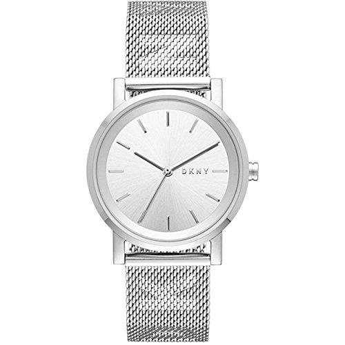 DKNY Damen-Armbanduhr NY2620 (Dkny Leder Damen Uhren)