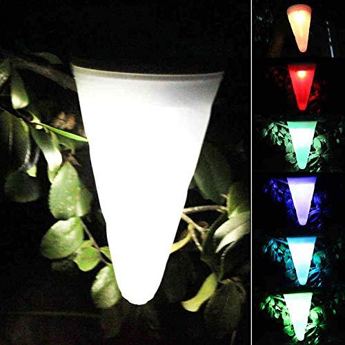 XCXDX Lustre Conique De Paquet De 4, Lumière Solaire De Carillon De Vent, Lumières Décoratives De Jardin Imperméables LED
