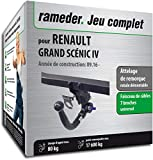 Attelage Amovible pour RENAULT GRAND SCÉNIC IV + faisceau 7 broches...