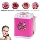 HUANSI Make-up Pinsel Waschmaschine Kinder so tun, als Spielen Sie Spielzeug Beauty Blender Schwamm Mini Reinigungsgerät